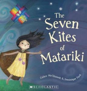 Seven Kites of Matariki-book